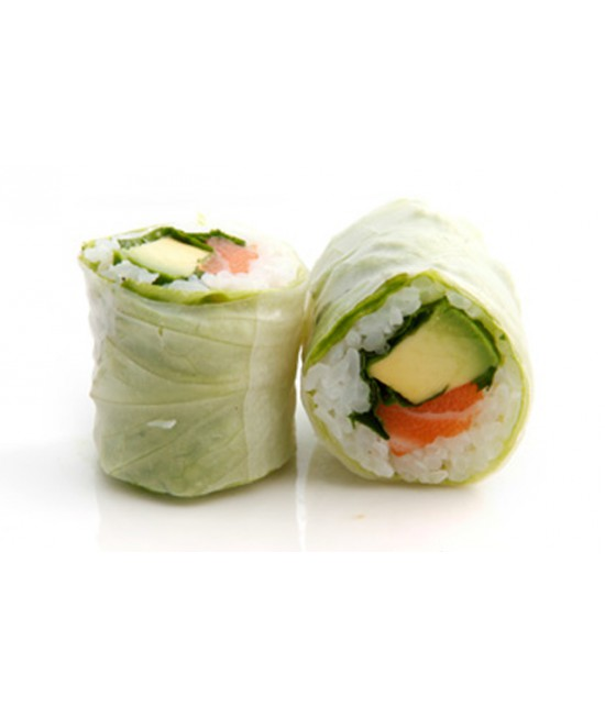 Printemp roll Saumon épicé (saumon écossais label rouge) X6